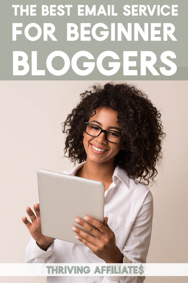 I finally found the best email service for beginner bloggers (& even more advanced bloggers) after using & testing different email marketing service providers. #thrivingaffiliates #bloggingtips #emailmarketing #emailnewsletter