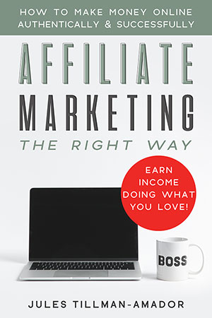 "That's right! I wrote the book on affiliate marketing! You don't need to take a high-priced, over-hyped course to learn how to do affiliate marketing, because ""Affiliate Marketing the Right Way: How to Make Money Online Authentically and Successfully"" the book (on Kindle and paperback - audio version coming soon!) is here!"