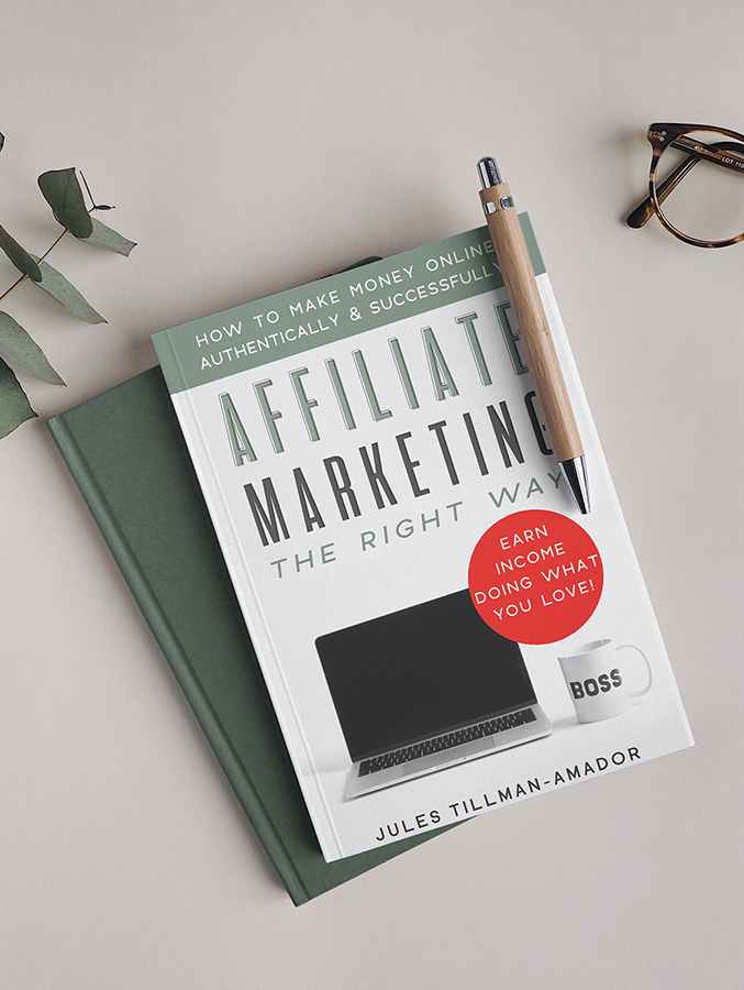 """I wrote the book on affiliate marketing! No high-priced course needed! """"Affiliate Marketing the Right Way: How to Make Money Online Authentically and Successfully"""" THE BOOK (on Kindle and paperback - audio version coming soon!) is here! #thrivingaffiliates"""